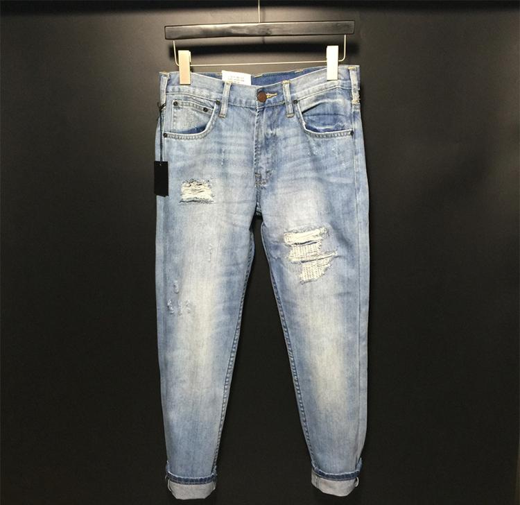 正品水洗牛仔裤
