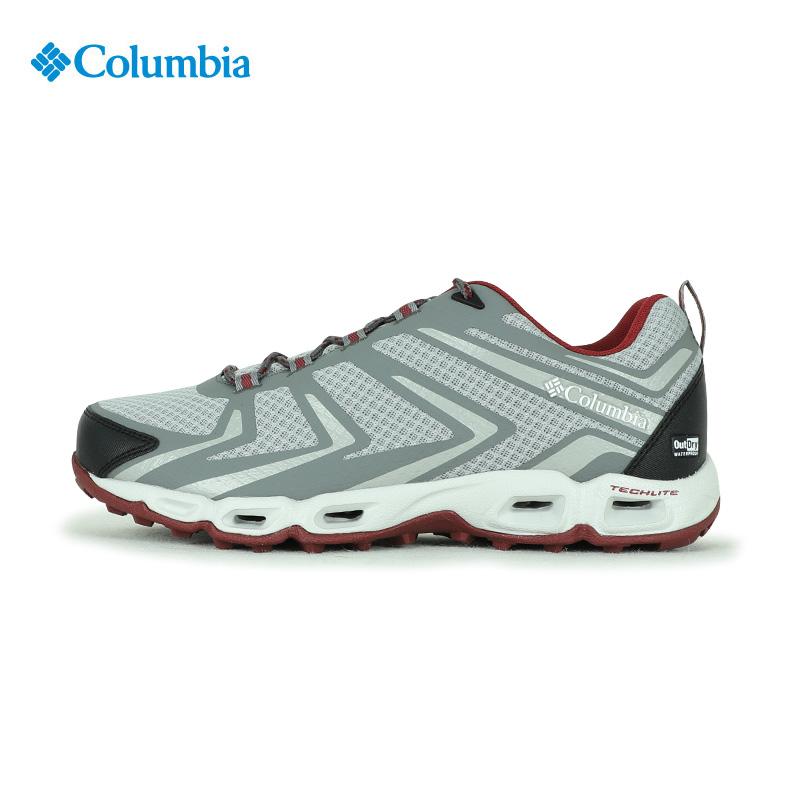 2018春夏Columbia哥伦比亚男鞋抓地防水徒步鞋耐磨旅游鞋DM2078
