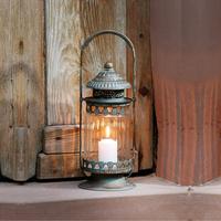 欧式法式风灯烛台马灯 可悬挂烛灯 手提复古风格蜡烛灯座烛座