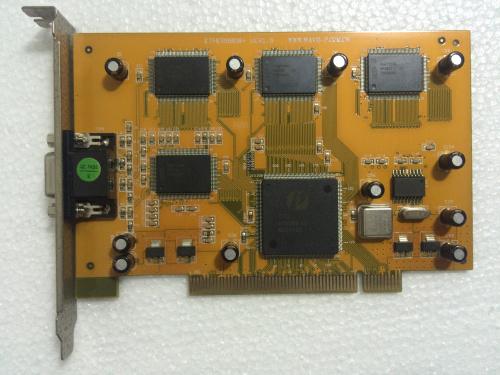 波粒监控卡V2.4黄板9808监控卡 八路监控采集卡
