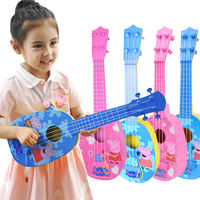 Piggy peek ukulele children beginner small guitar toy Peggy simulation playing musical instrument boys and girls