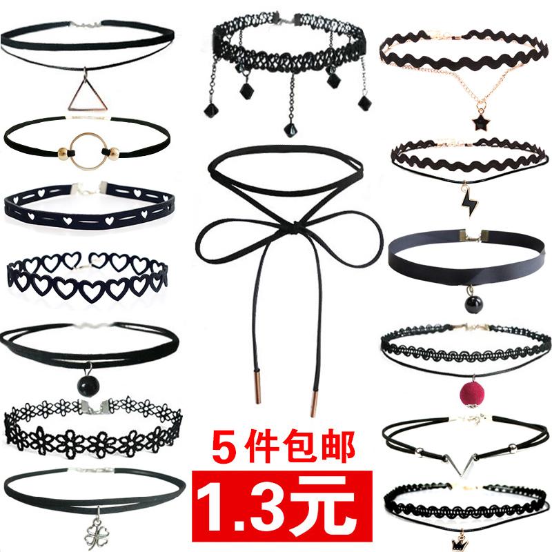 韩版脖颈链