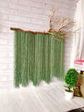 Ins Nordic hand-woven dyed tapestry antique ornaments B&B living room bedroom decoration hangcloth branches tapestry