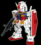 Paper demon 3-D paper model 120g pearlescent paper up to SD Gundam SD RX-78-2
