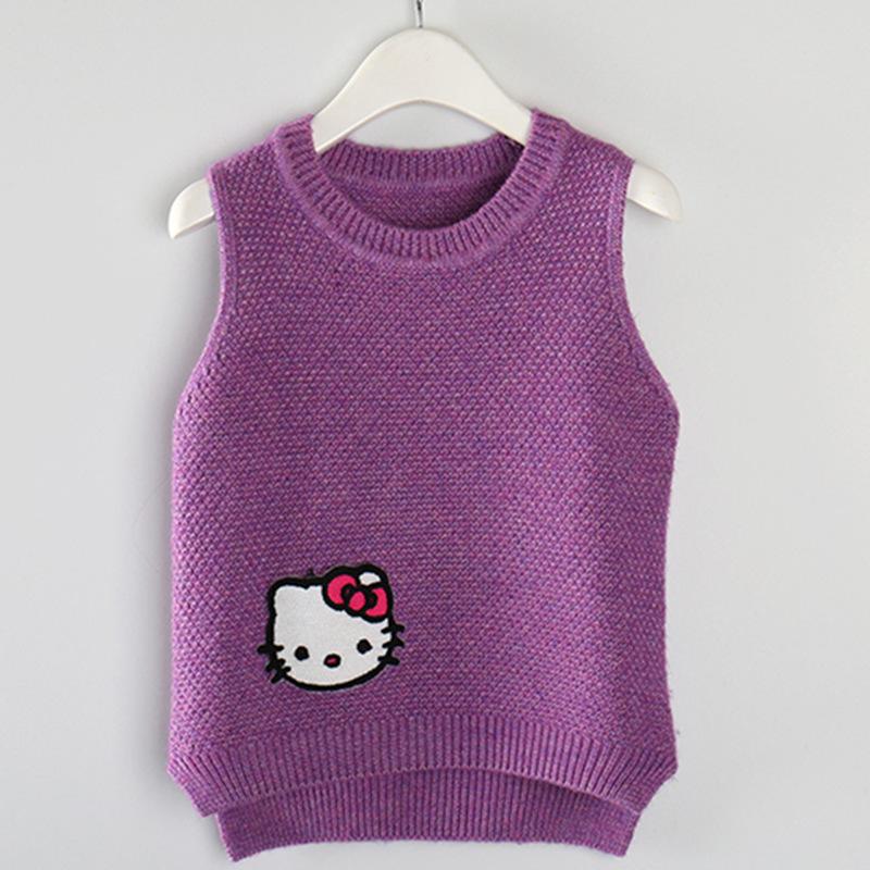 女童羊毛衫新款