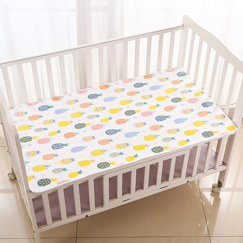 隔尿垫婴儿防水可洗超大儿童表纯棉纱布透气防滑姨妈宝宝尿垫夏天