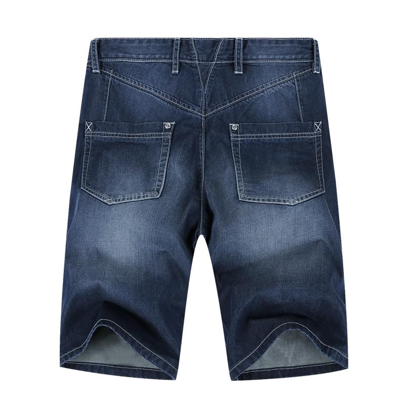 马克华菲短裤男士修身韩版纯棉休闲牛仔五分裤2017夏装新款 7501