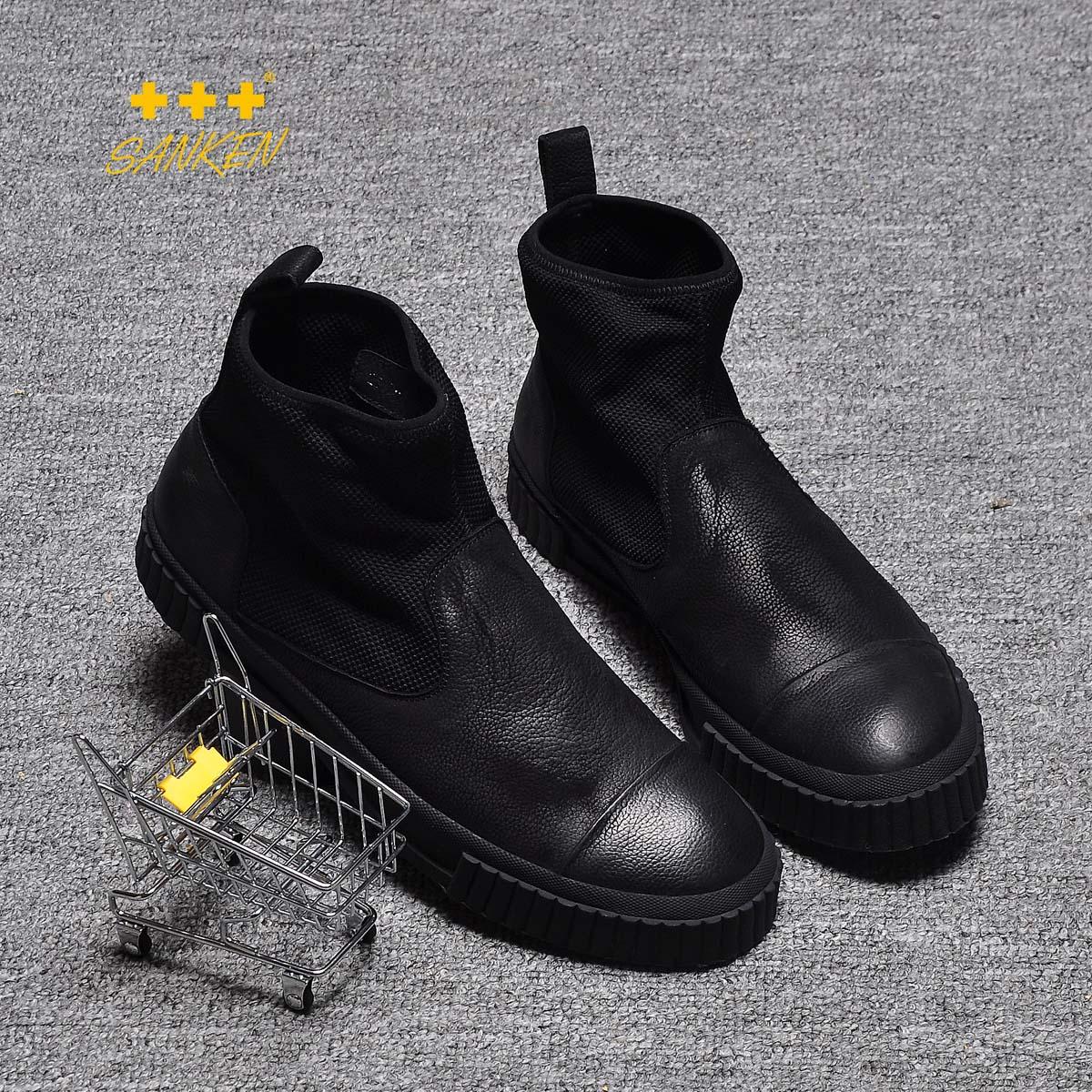 韩范高帮鞋