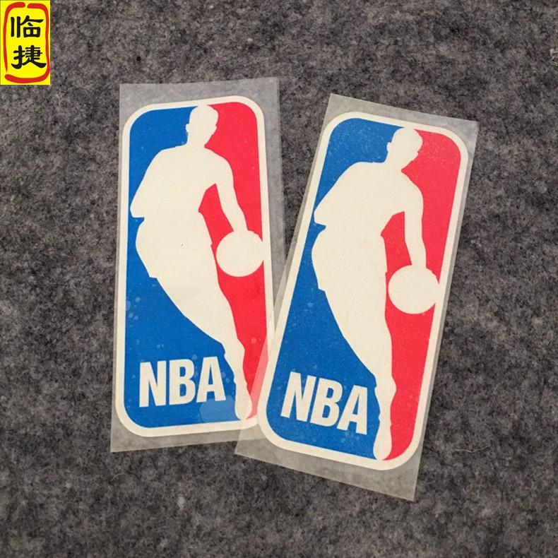 NBA车贴 篮球贴纸 湖人勇士火箭贴NBA标志LOGO男贴纸 反光防水贴