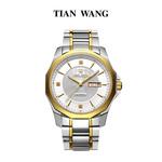 天王表正品双日历金表天王手表专柜同款男表机械表复古男表GS5705