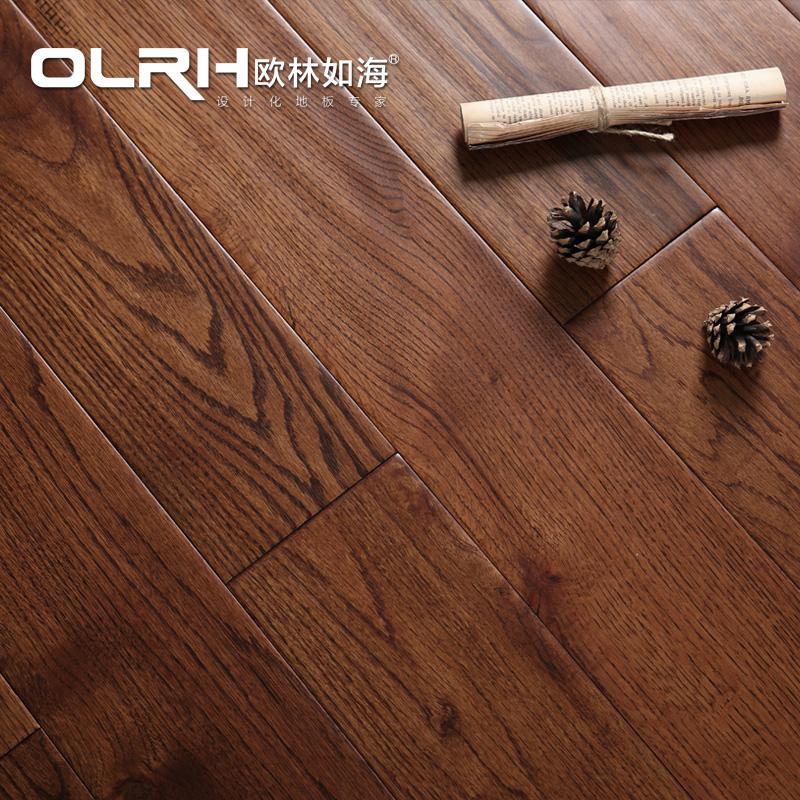 欧林如海美国红橡仿古实木地板
