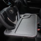 汽车方向盘小桌板车内饭桌餐桌车上餐盘车载笔记本支架平板电脑桌