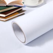 纯白色自粘贴纸墙纸墙贴网红背景墙宿舍墙纸卧室温馨防水壁纸自粘