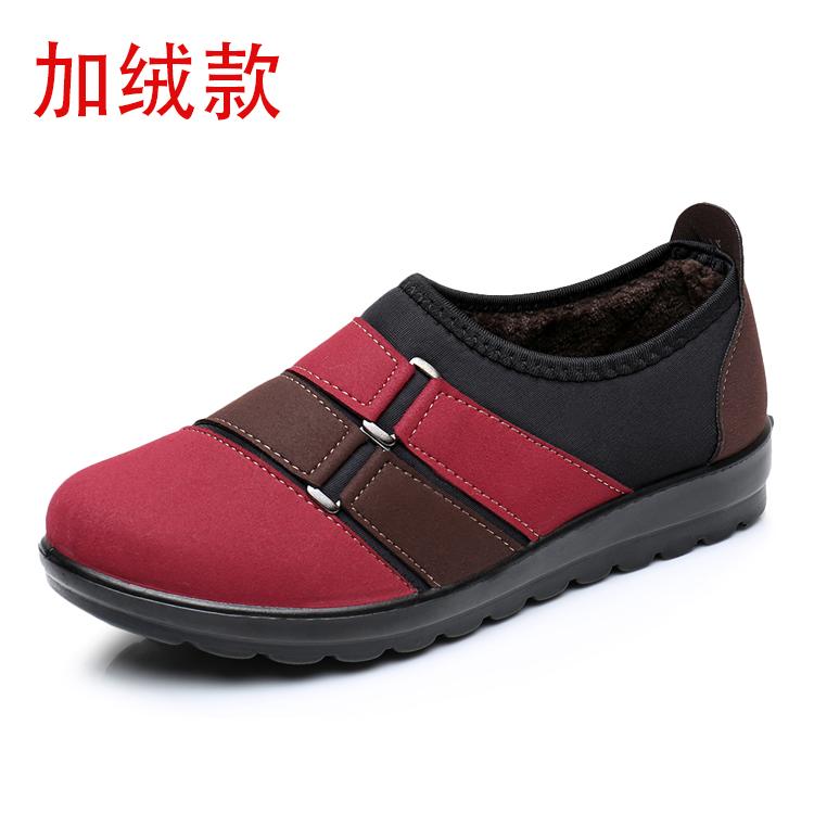 二棉鞋女防滑