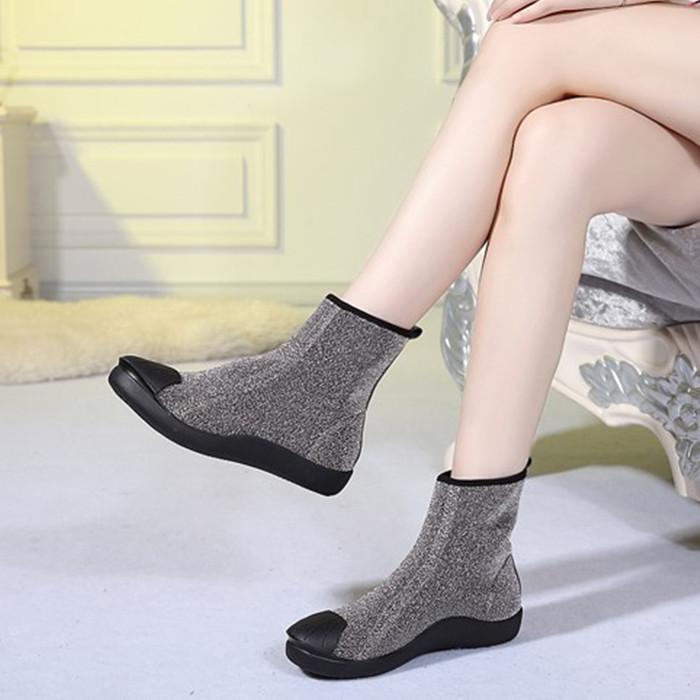 韩版大码女靴