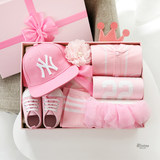 Newborn baby clothes gift box package big gift package female baby supplies full moon gift box spring and autumn gift winter