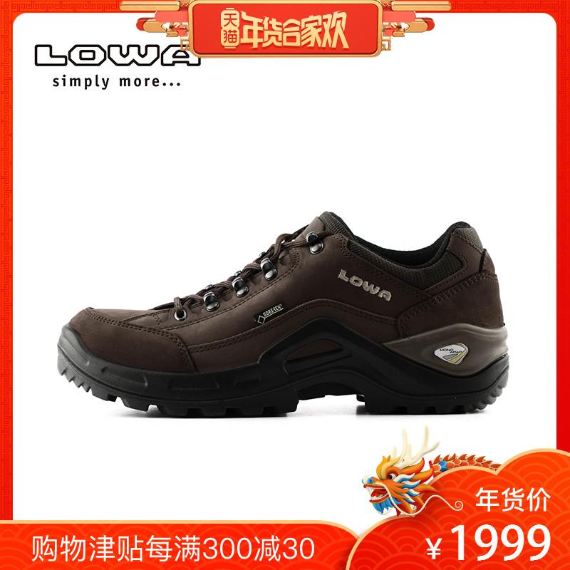 LOWA户外防水耐磨RENEGADE II GTX男式登山鞋低帮L310953徒步鞋