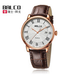 Swiss Made Balco拜戈 瑞士名表 休闲男士皮带石英手表 1140Q3334