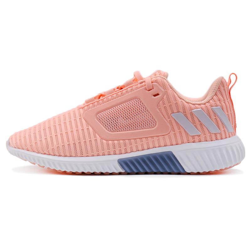 阿迪达斯女鞋CLIMACOOL清风系列夏季网面透气跑步鞋BB6558 BB6556