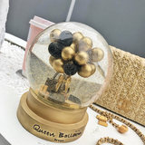 QueenBalloon Balloon Crystal Ball Valentine's Day Tanabata Christmas Birthday Gift Car Home Decoration Decoration