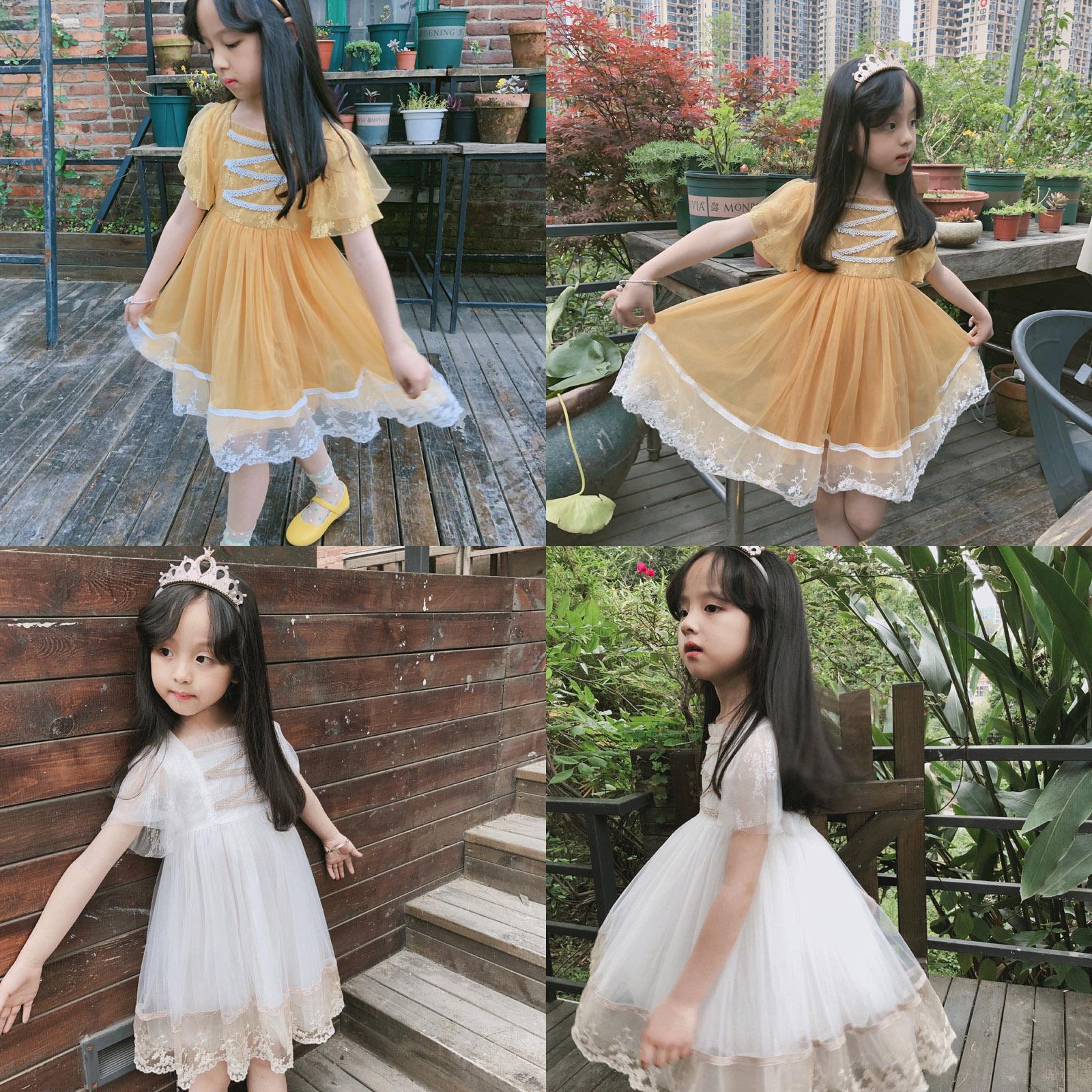 网纱宫廷公主裙