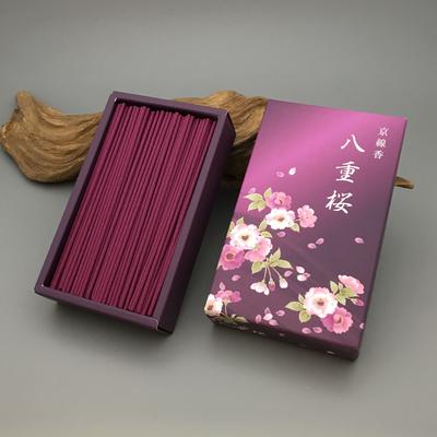 日本香彩堂 京线香 八重樱 少烟 线香 明媚高雅 覆盆子 茉莉