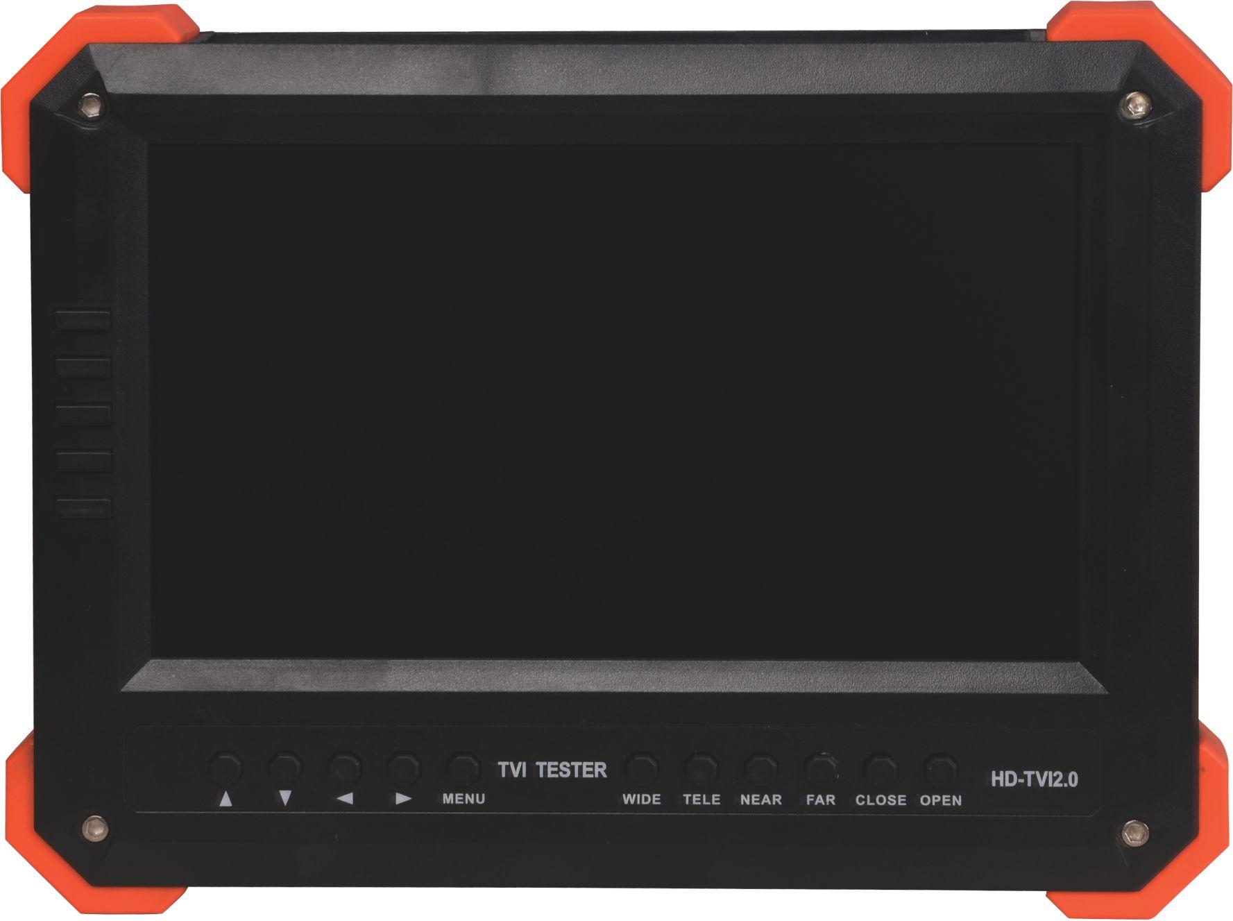 7寸工程宝视频监控测试仪X41TAC ahd tvi cvi 模拟同轴 VGA HDMI