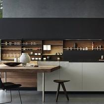 Toute maison armoires de cuisine simples modernes personnalisés lumière luxe personnalisé autre personnalisation d'armoires