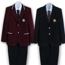 韩国西装 套装 班服高中生大学英伦男生校服套装 学生装 学院风