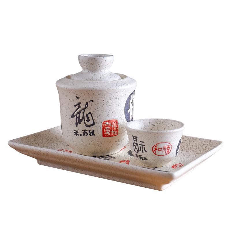 陶瓷温酒器烫酒壶家用景德镇酒具套装中式热暖酒壶白酒清酒黄酒杯