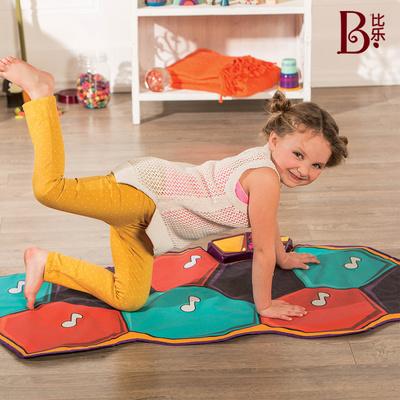 比乐B.toys音乐跳舞毯钢琴毯 儿童亲子游戏垫 灯光电子音乐可折叠
