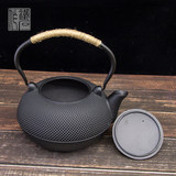 3L large-capacity iron kettle cast iron teapot hand-made cast iron kettle boiled teapot Japanese tea set in southern Japan