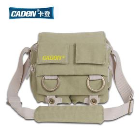 包邮 CADEN斗士小型帆布 摄影包 单反摄影相机包 摄像机包 微单包