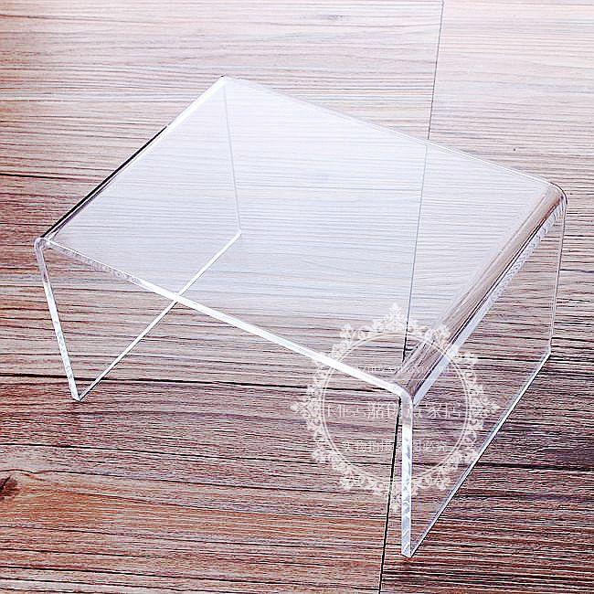 工厂直销 亚克力透明柜子分隔架置物架展示架隔层隔断板离板定做