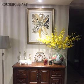现代美式装饰画玄关餐厅客厅简美美式乡村沙发背景墙轻奢卧室挂画