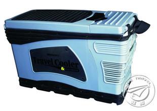 熱銷!7.8L扶手防震冷熱冰箱 車用 車載冰柜 冰桶 汽車旅行冰箱