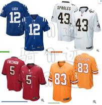 童装美式橄榄球训练服比赛服球迷服男女儿童原厂烫印号码队徽印花