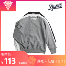 BPCALL heavy weight long staple cotton cross braided non WTAPS collar collar three color sweater man