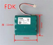 日本原装 三洋FDK 镍氢充电电池组 NI-MH 4.8V 600mA镍氢充电电池