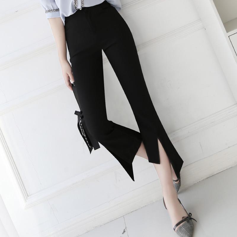 小喇叭腿裤