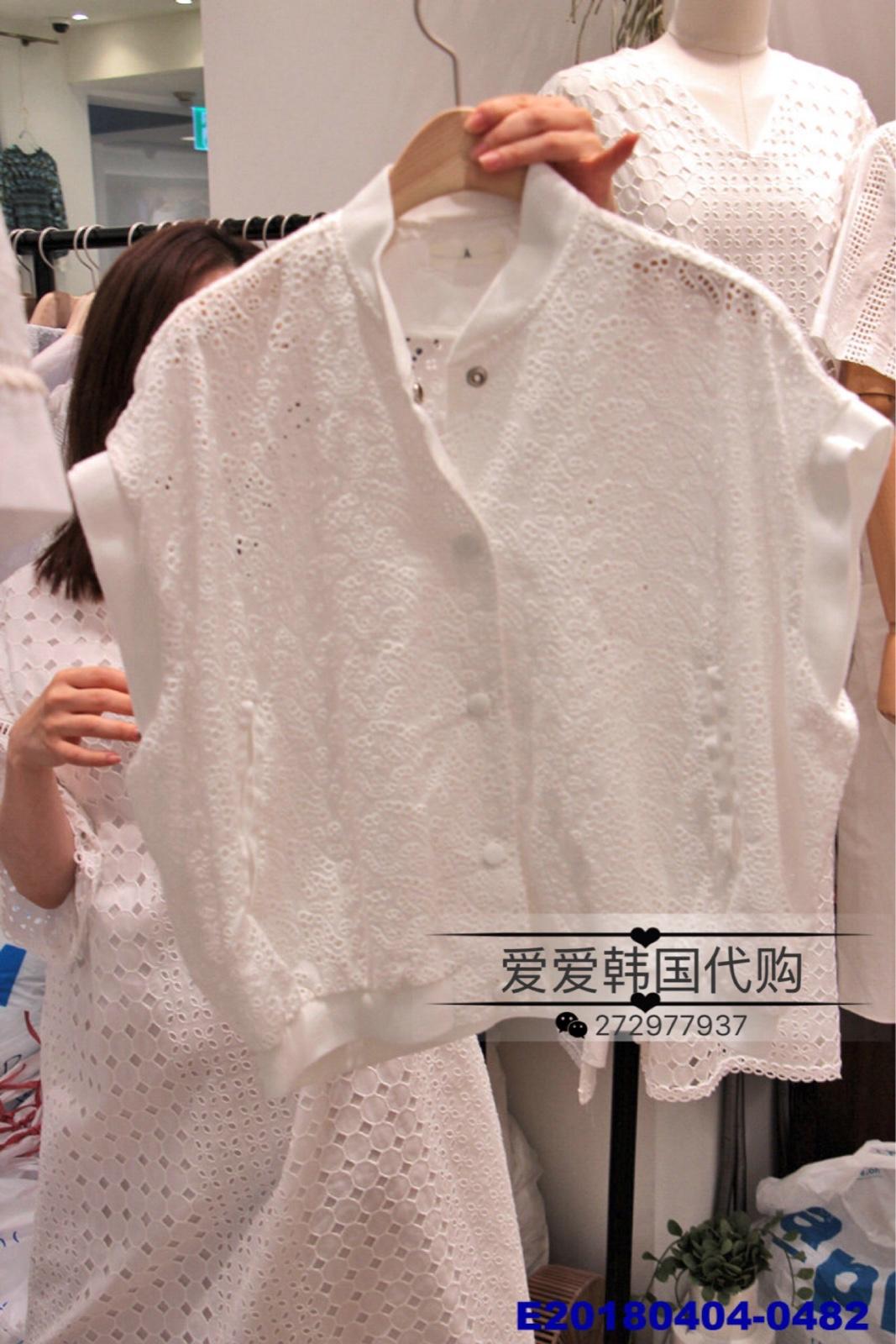 韩国蕾丝棉马甲