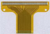 镂空沉金手指批量3M胶电路板厂 深圳软性线路板FPC双面排线打样图片
