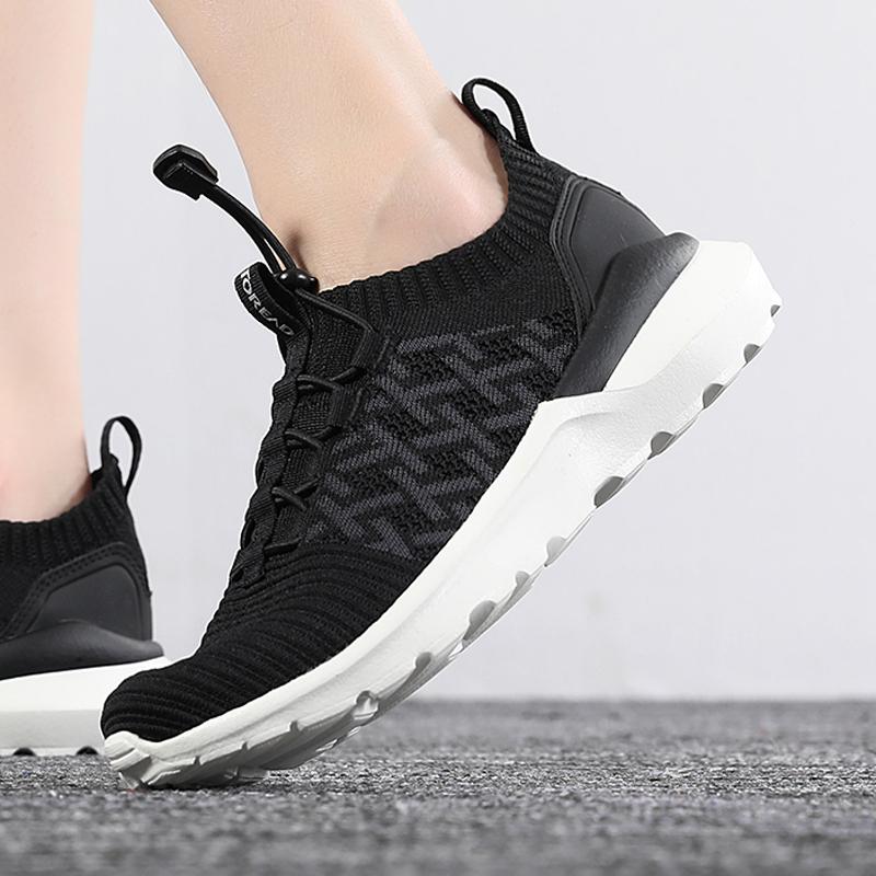 探路者女鞋2020冬季户外运动鞋透气徒步鞋低帮休闲鞋TFOH82721