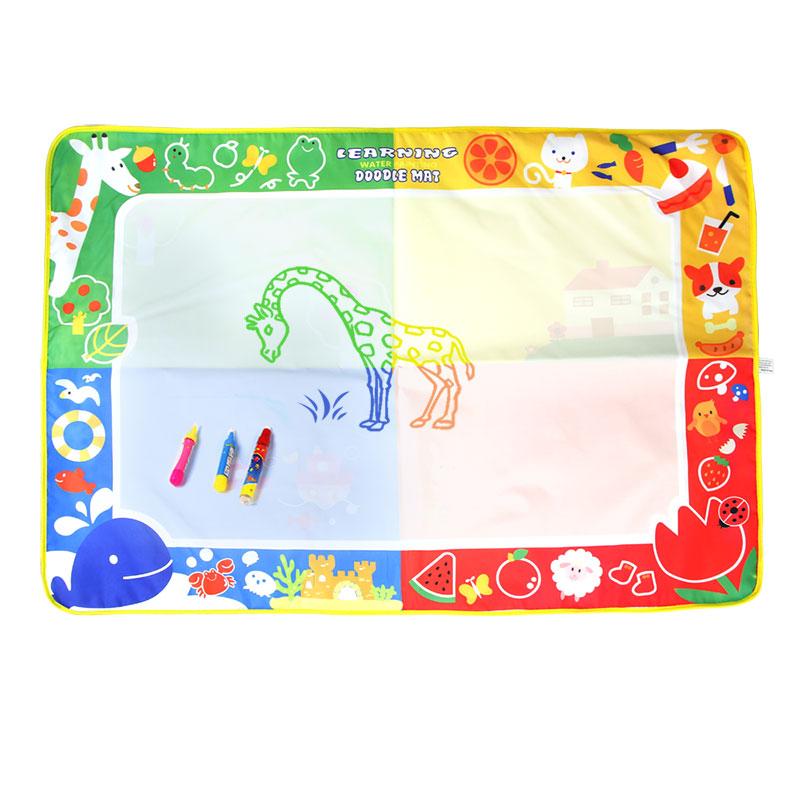 大号coolplay儿童神奇水画布魔法涂鸦毯绘画宝宝画画玩具清水涂色