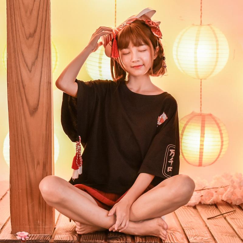 日系短袖女装