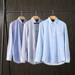 单排扣修身衬衫