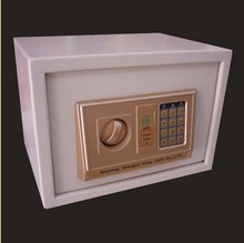 高30厘米可平放大号文件夹双层保险箱保管箱保险柜
