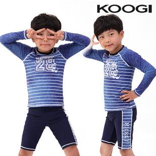 2016夏款 韩国进口正品代购 儿童男童米奇老鼠防紫外线泳衣套装