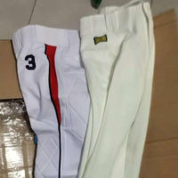 Baseball pants, pants, private custom, wrong single white gray competition suit training clothes, seven straight, nine pants, 1