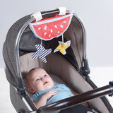 Israel Taff TAFTOYS watermelon sunscreen windshield cloth pendant toy baby car pendant jewelry